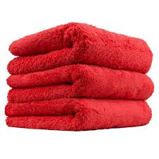Chemical Guys Happy Ending Towel red