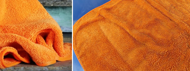 Fatty Orange Drying Towel