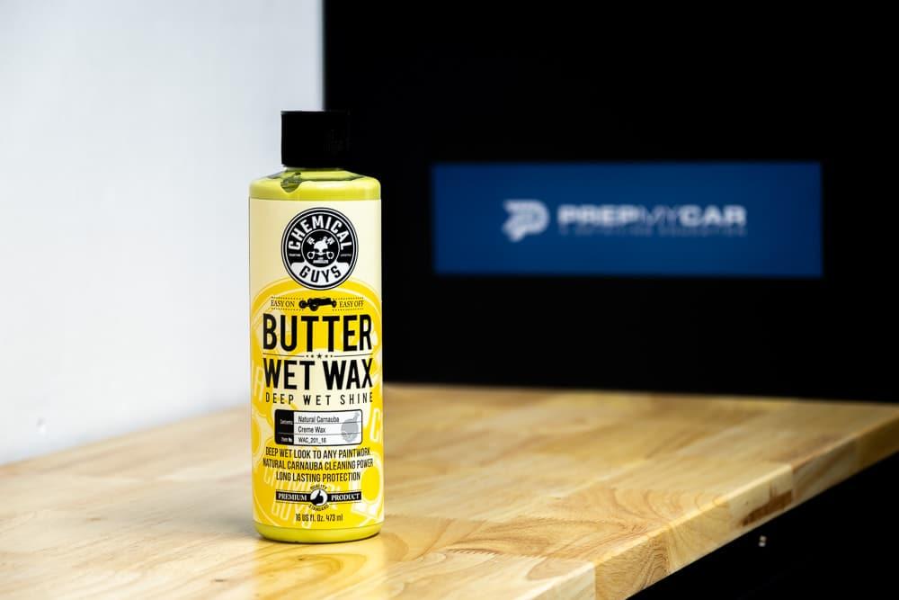 Butter wet wax chemical guys belgium