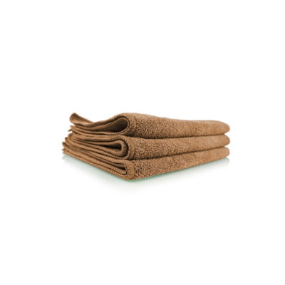 Chemical Guys Belgium Workhorse microfiber towel Tan Brown