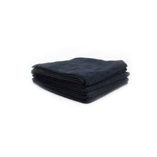 Chemical Guys Belgium Workhorse microfiber towel black