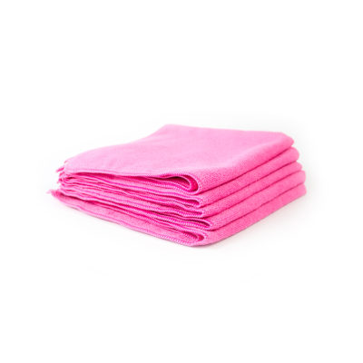 Chemical Guys Belgium Workhorse microfiber towel pink