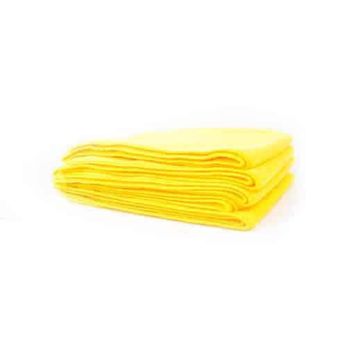 Chemical Guys Belgium Workhorse microfiber towel yellow
