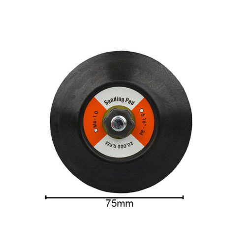 75mm backing plate