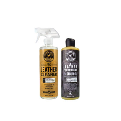 Chemical Guys Leather Cleaner and Serum