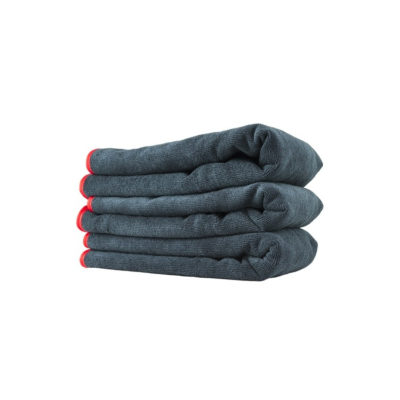 Premium Red Line microfiber towel