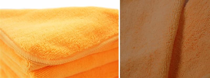 El gordo Orange / Orange Banger microfiber towel