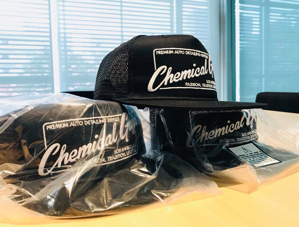 Chemical Guys trucker style hat