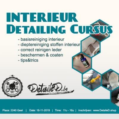 Cursus Interieur Reiniging