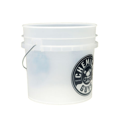 Chemical Guys clear bucket emmer