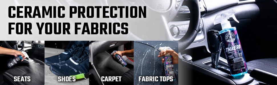 Chemical Guys HydroTreath Ceramic Fabric Protectant