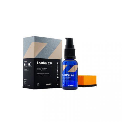 Cquartz Leather 2.0 coating