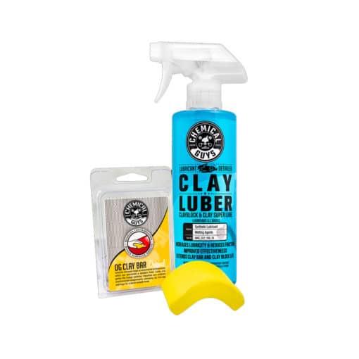 Claybar en luber kit