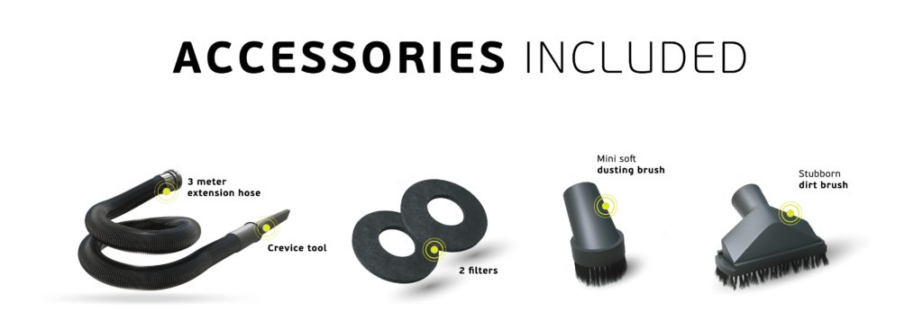 Bigboi Vacuum kit stofzuiger