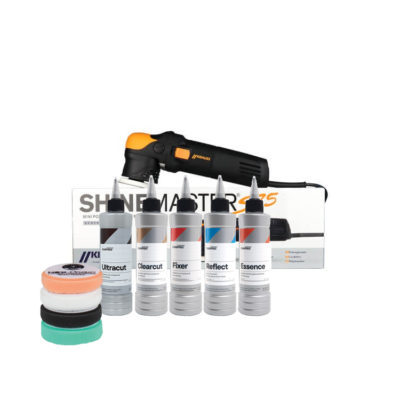 Krauss S75 mini polisher kit met Carpro polierproducten